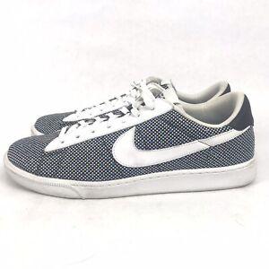 Nike SB Tennis Classics Court Blue Checkerboard Sneakers 867126-001 Men's 11.5