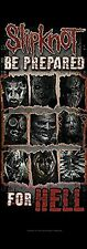 More details for slipknot be prepared for hell   large fabric poster 1500mm x 530mm (hr)