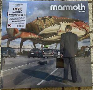 AUTOGRAPHED SIGNED Mammoth WVH Wolfgang Van Halen Clear color Vinyl 2LP