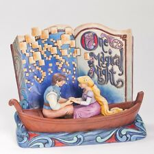 Disney Traditions Jim Shore Tangled Rapunzel & Flynn Storybook Figurine