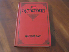 """1910 """"The Ramrodders"""" by Holman Day Hardcover Book"""