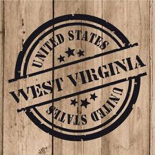 Vinilo de Corte West Virginia Pegatina Virginia Occidental United States 10 cm