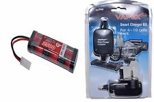 7.2v 2500mah Ni-MH Rechargeable Battery Pack & Charger Tamiya Vapextech