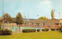 Cambridge Ohio 1960s Postcard Municipal Swimming Pool