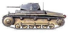 Lead Warrior 1/35 Panzer Ii Ausf.B Tank Conversion (for Pz. Ii C kits) Lw35010