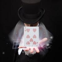 New Popular Card Vanish Illusion Change Sleeve Close-Up Street Magic Trick
