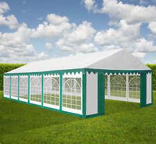 XXL 6x12 m PVC Bierzelt Pavillon Partyzelt Festzelt Vereinszelt Gartenzelt grün