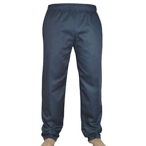 Black Chef Trousers 100% Cotton pants 3 Pockets Comfortable for Unisex Trousers