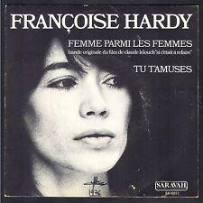 FRANCOISE HARDY BO FILM Si c'était à refaire 45T SP SARAVAH 40072