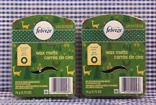 12 Febreze Wax Melts FROSTED PINE Limeted Edition (2 Packages) 2.75 oz each