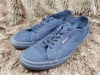 Mens Navy Superga Canvas Sneakers US 13 UK 12 EU 47