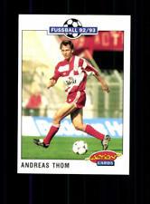 Andreas Thom  Bayer Leverkusen Panini Action Card 1992-93+ A 183154