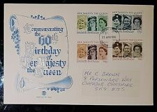 GB QEII 1986 60th Birthday of Her Majesty the Queen- STOCKPORT (NoL451)