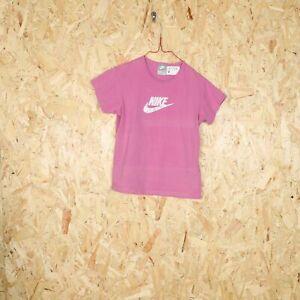 Kid's NIKE Big Logo T Shirt Purple Large L