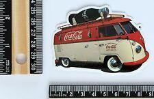 Vintage VW Volkswagen Bus Camper Combi cola bottle Hippie decal sticker #2600