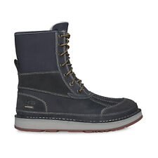 UGG AVALANCHE BUTTE TRUE NAVY LEATHER WATERPROOF MEN'S BOOTS SIZE US 10/UK 9 NEW