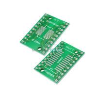 50PCS SSOP20 SOP20 TSSOP20 DIP20 PCB SMD DIP/Adapter Plate Pitch 0.65/1.27mm