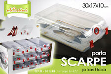 CONTENITORE PORTA SCARPE DONNA 30*17*10 CM IN PLASTICA OND-601248