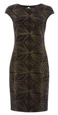 ROMAN originals Gold Glitter Velvet Dress 20 BNWT Cocktail Croisière Soirée