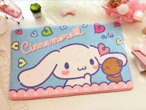 Cute Cinnamoroll Heart Bedroom Doormats Floor Kitchen Non-Slip Mat Pad Carpet