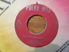 POLKA HITS 45 RECORD/NICK + MELODY MEN /HAPPY MELODY/MUSICIANS COME AND PLAY/VG+
