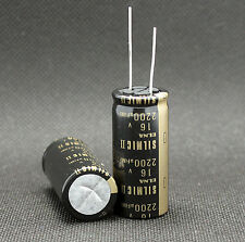 2 Pcs Japan ELNA 2200UF/16V  SILMIC II Series High-END HIFI Audio Capacitor CAP