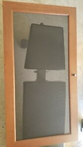 Salamander Designs Synergy 40 Cherry Wood/Perforated Steel Door
