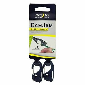 2-Pack Nite Ize CamJam Mini Cord Paracord Tightener Small Compact Lightweight