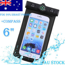 Waterproof Phone Underwater Pouch Swimming Bag Case for iPhone 6 7 Samsung Black