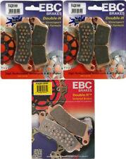 EBC HH Front + Rear Brake Pads (3 Sets) 2005-2011 Honda VTX1800 F1 F2 F3