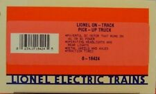 LIONEL 6-18424  ON - TRACK  PICK-UP TRUCK    NEW