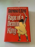 1997 Rage Of A Demon King By Raymond E. Feist Hardcover 1st Edition