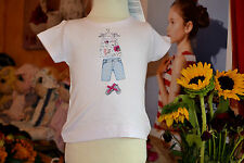 tee shirt neuf lili gaufrette 6 mois la petite fille la tunique se souleve liber