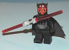 Lego GENUINE BRAND NEW Minifigure Darth Maul with sealed CAPE & horned head