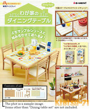 re ment petit sample series dining table set miniature furniture figures - Dining Room Items
