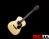 RRP$399 Aria AW35N Acoustic Guitar Dreadnought Sitka Spruce Rosewood