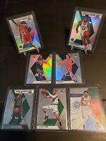 2019-20 Panini Mosaic NBA 7 Card Lot Silver RC Lonzo Ball