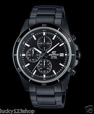 EFR-526BK-1A1 Black Men's Watches Casio Edifice Chronograph 100m New
