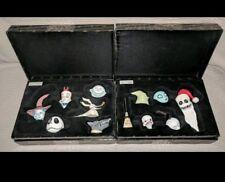 The Nightmare Before Christmas 12 Piece Set Jack Sally Vinyl Heads 1498/1500