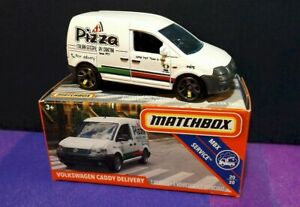 Matchbox 1:64  2019- Power Grabs- Volkswagen Caddy Delivery- New in Box 86/100