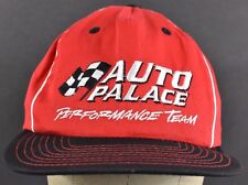 Red Auto Palace Performance Embroidered Baseball hat cap Adjustable Snapback