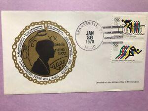 #1460 #1462 John Williams Day Pennsylvania Olympic Gold Medalist L946