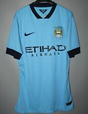 MANCHESTER CITY 2014 2015 HOME FOOTBALL SHIRT JERSEY NIKE PLAYER ISSUE
