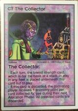 Galactic Empires CCG C7 The Collector  x3 VERY Rare OOP Free Shipping