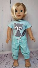 """Foxy T-Shirt and Pleated Capris Fits American Girl Dolls - 18"""" Dolls"""