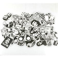 Black & White 60pcs Graffiti Sticker Car Sticker Laptop Bomb Decal Luggage Desk