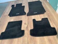 Fußmatten für Mercedes E-Klasse A124 Cabrio in Velours Elegant pacificblau