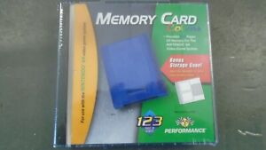 NEW 256K PERFORMANCE Color MEMORY CARD FOR NINTENDO 64 N64 STORAGE CASE