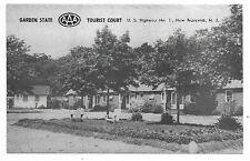 NEW BRUNSWICK NEW JERSEY Garden State Tourist Court U. S. Highway No. 1