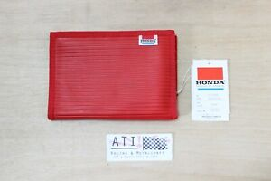 Rare Vintage Honda SR Red Large Wallet Card Holder Collectable , New Old Stock